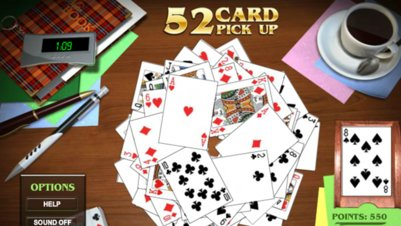 52 Card Pickup - Screenshot