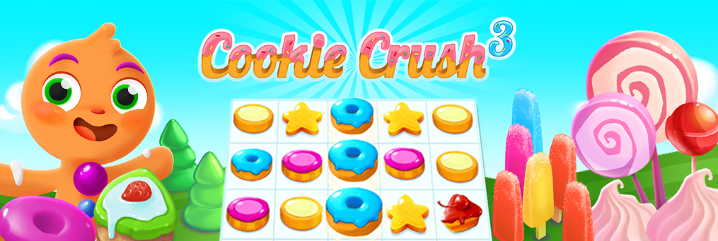 Cookie Crush 3 - Presenter