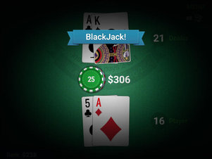 Black Jack - Screenshot