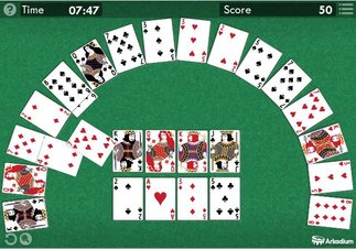 Crescent Solitaire - Screenshot