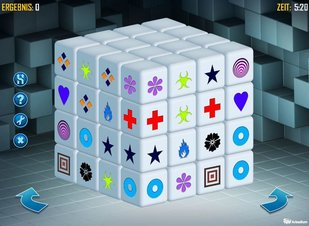Mahjongg Dimensions - Screenshot
