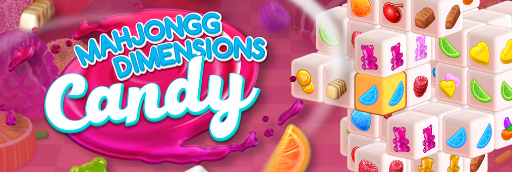 Mahjongg Dimensions Candy - Presenter