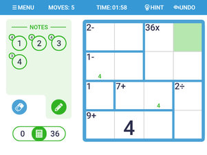 Math Doku - Screenshot