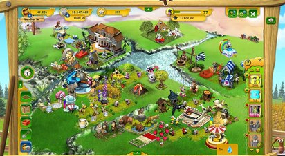Farmerama - Screenshot
