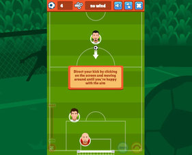 Top-Down Soccer - Screenshot