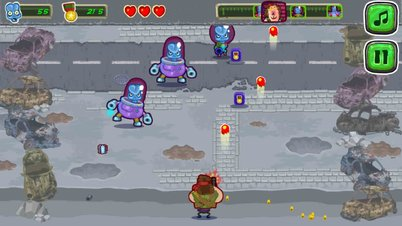 Aliens Attack - Screenshot