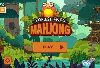 Forest Frog Mahjong - Screenshot