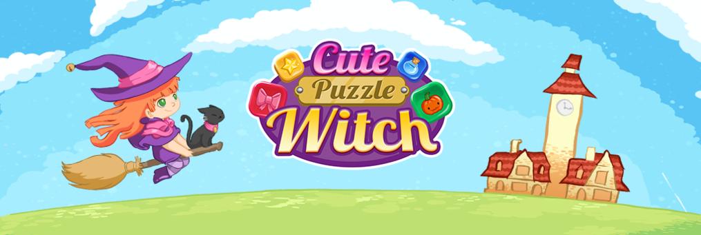 Cute Puzzle Witch - Presenter