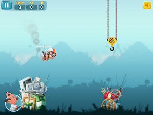 Atom & Quark: Scrappy Dog - Screenshot