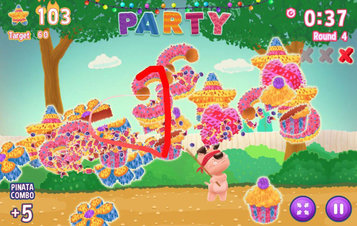 Atom & Quark: Pinata Party - Screenshot