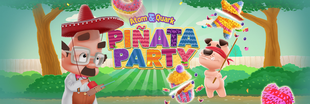 Atom & Quark: Pinata Party - Presenter