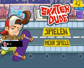 Skater Dude - Screenshot