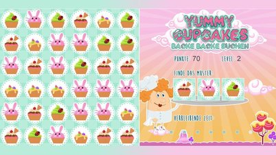 Yummy Cupcakes - Screenshot