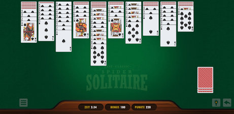 Best Classic Spider Solitaire - Screenshot