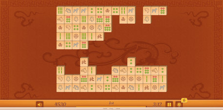 Mahjong Connect HD - Screenshot
