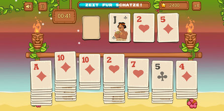 TiKi Solitaire - Screenshot