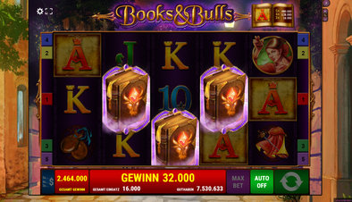 Books and Bulls - Screenshot