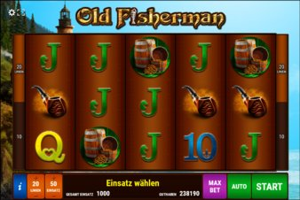 Old Fisherman - Screenshot