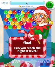 Bubble Charms Christmas - Screenshot