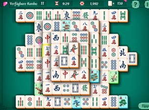 Mahjongg Solitaire - Screenshot