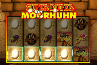 Veras Super Duper Moorhuhn - Screenshot