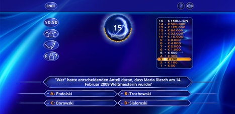 Wer wird Millionär? Trainingslager  - Screenshot