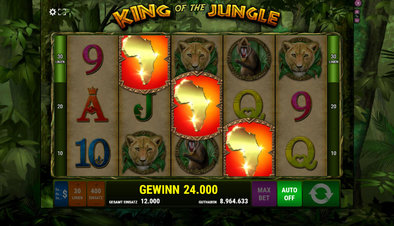Veras King of the Jungle - Screenshot