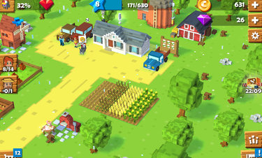 Blocky Farm - Screenshot