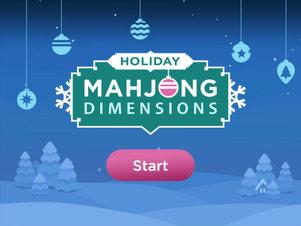 Holiday Mahjong Dimensions kostenlos spielen bei RTLspiele.de