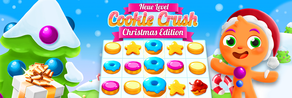 Cookie Crush Christmas - Presenter