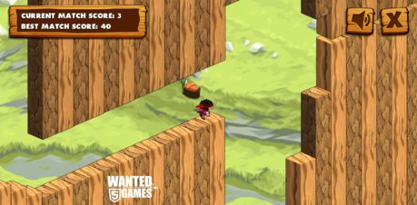 Cube Ninja - Screenshot