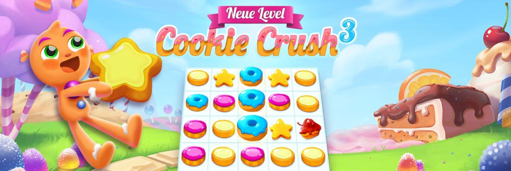 Cookie Crush 3 - Presenter