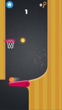 Flipper Basketball - Screenshot