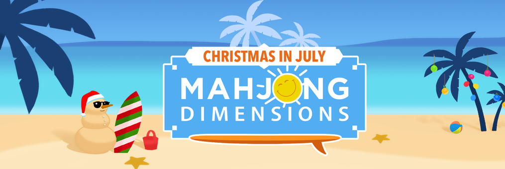 Mahjong Dimensions: Christmas in July - Presenter