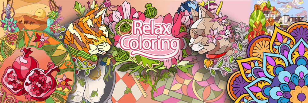Relax Coloring - Presenter