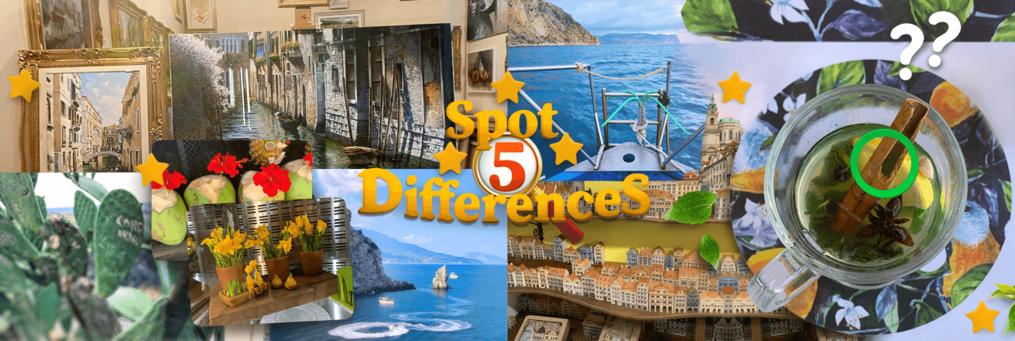 Spot 5 Differences - Presenter