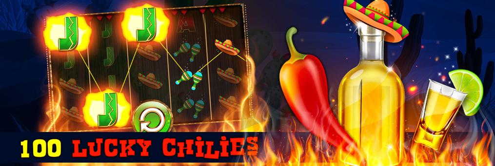 100 Lucky Chillies - Presenter