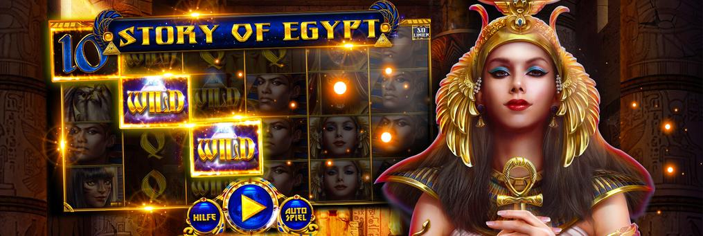 Story of Egypt - Presenter